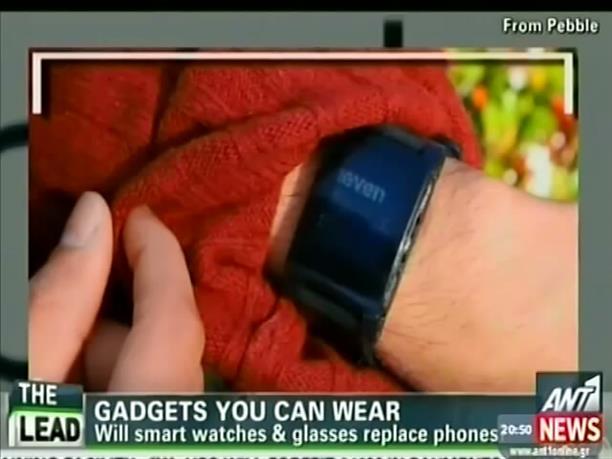 Ρολόι σε ρόλο κινητού τηλεφώνου