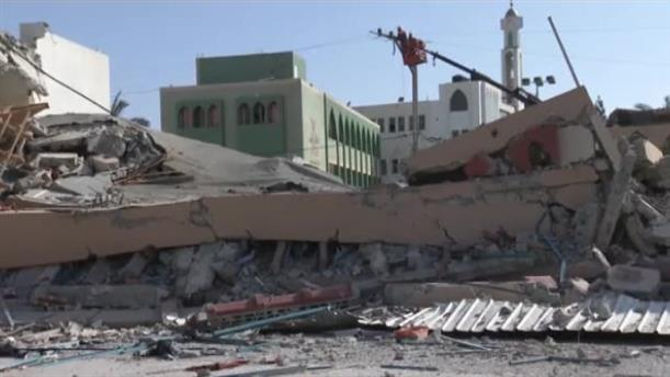 Λωρίδα της Γάζας: Καταστράφηκε κτίριο της Χαμάς