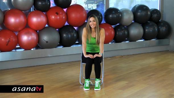 Workout με σύμμαχο... μια καρέκλα