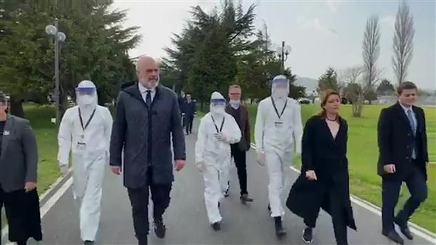 Ιατρική βοήθεια στην Ιταλία στέλνει η Αλβανία