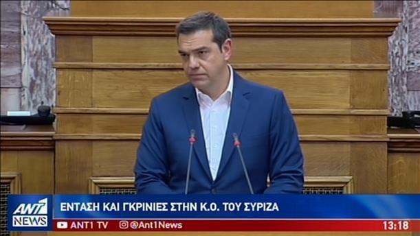 «Άναψαν τα αίματα» μεταξύ Τσίπρα - Τσακαλώτου στην ΚΟ του ΣΥΡΙΖΑ