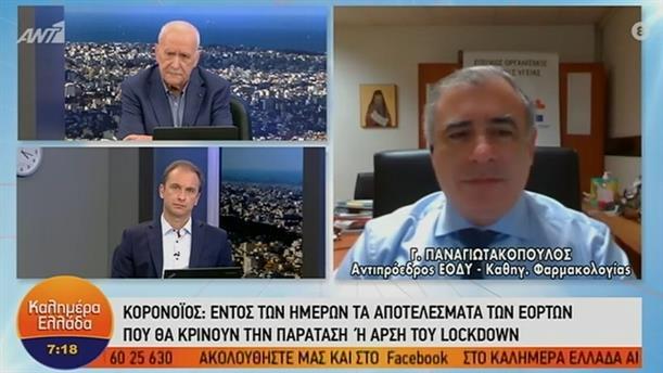 Γ. Παναγιωτακόπουλος - Αντιπρόεδρος ΕΟΔΥ – ΚΑΛΗΜΕΡΑ ΕΛΛΑΔΑ - 07-01-2021