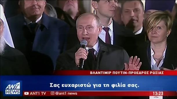 Λαμπρή υποδοχή του Πούτιν στην Σερβία και «χρυσές συμφωνίες» με τον Βούτσιτς