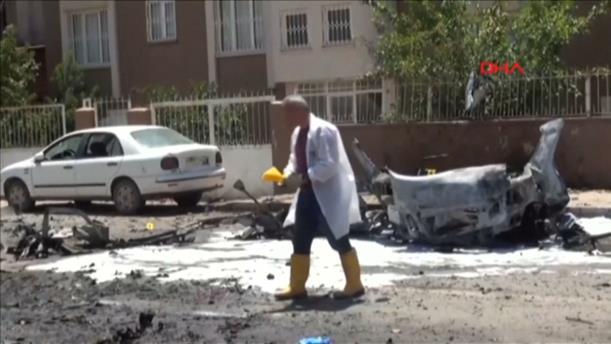 Έκρηξη σε αυτοκίνητο προκάλεσε το θάνατο τριών ανθρώπων στην Τουρκία