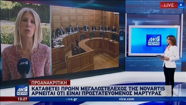 Φειδωλός στην κατάθεση του για την Novartis ο Φιλίστρωρ Δεστεμπασίδης