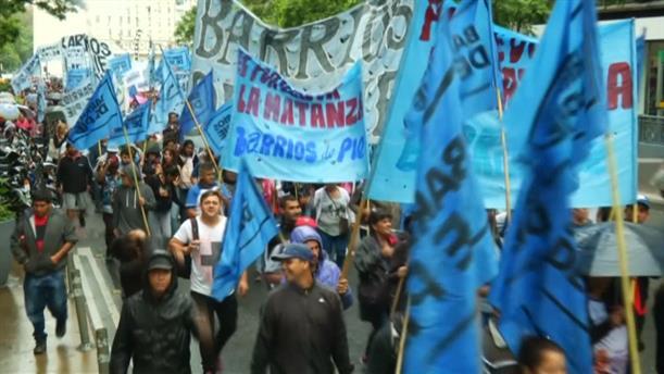 Διαδηλώσεις κατά της λιτότητας στην Αργεντινή