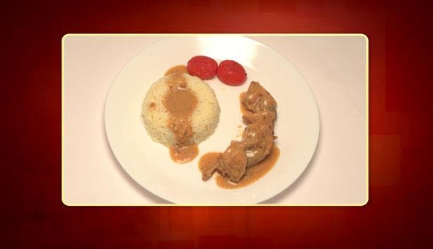 Κοτόπουλο με σάλτσα άγριων μανιταριών και ρύζι του Βασίλη - Κυρίως Πιάτο - Επεισόδιο 42