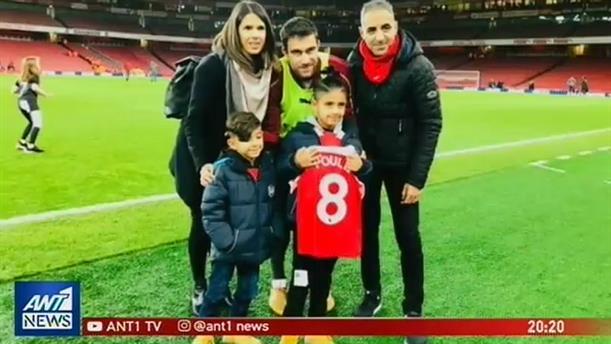 Αποκλειστικά στον ΑΝΤ1 ο πατέρας του 8χρονου τυφλού που έχει ξετρελάνει την Αγγλία