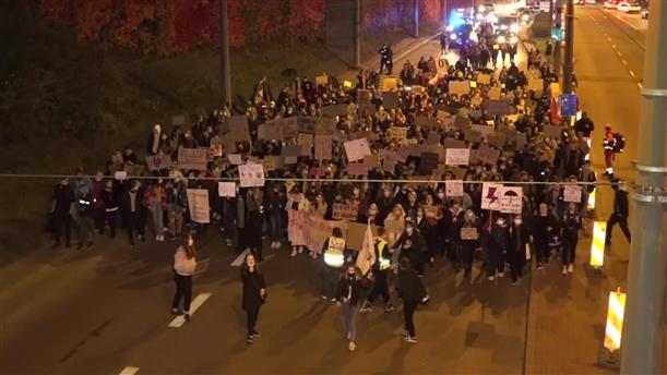 Βαρσοβία: Διαδηλώσεις υπέρ του δικαιώματος στην άμβλωση