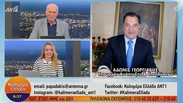 Α. Γεωργιάδης - Υπουργός Ανάπτυξης και Επενδύσεων – ΚΑΛΗΜΕΡΑ ΕΛΛΑΔΑ - 08/02/2021