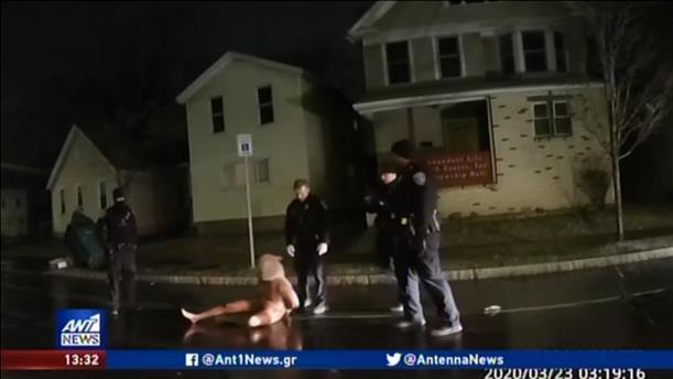 Βίντεο-σοκ με κρούσμα αστυνομικής βίας στις ΗΠΑ