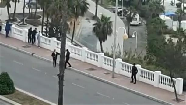 Ελεγχόμενη έκρηξη νάρκης στην Ισπανία