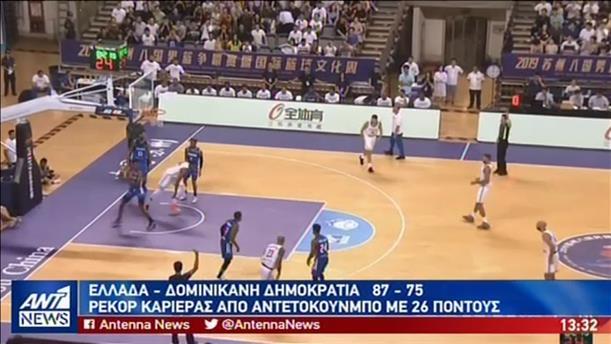 Στον τελικό έστειλε την Εθνική ο Αντετοκούνμπο