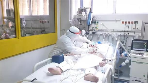 Συγκινητικό βίντεο από το προσωπικό των ΜΕΘ