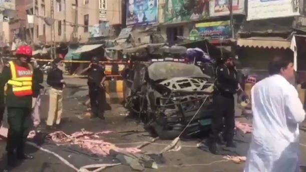 Ισχυρή έκρηξη σε ναό στο Πακιστάν