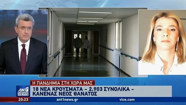 Κορονοϊός: Κανένας θάνατος το τελευταίο 24ωρο στην Ελλάδα
