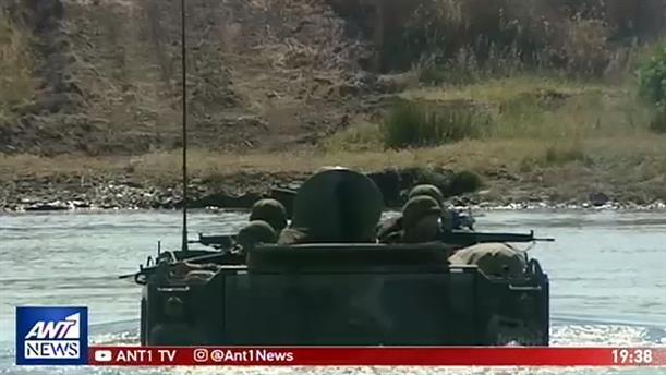 Αποκλειστικές εικόνες από άσκηση των Ενόπλων Δυνάμεων στον Έβρο