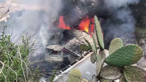 Σύγκρουση τρένων στο Μεξικό
