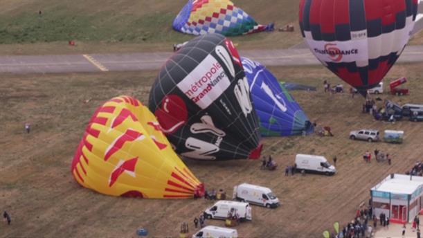 Αερόστατα για ρεκόρ στη Γαλλία