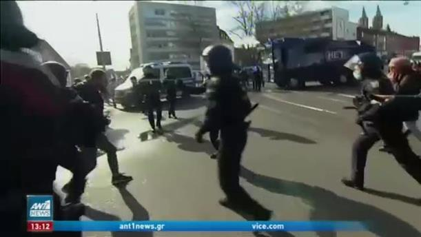 Κορονοϊός: επεισοδιακές διαδηλώσεις σε πολλές ευρωπαϊκές πόλεις