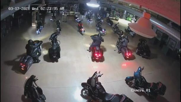 Ομαδική κλοπή μοτοσικλετών στις ΗΠΑ