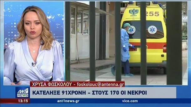 Κορονοϊός: 170 οι νεκροί στην Ελλάδα