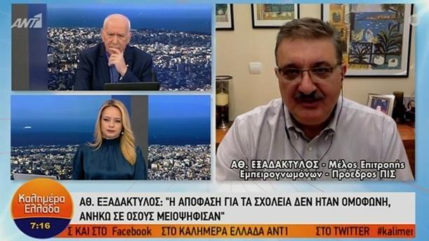 Αθανάσιος Εξαδάκτυλος - Πρόεδρος ΠΙΣ – ΚΑΛΗΜΕΡΑ ΕΛΛΑΔΑ - 08/01/2021