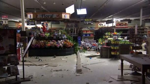 Βίντεο από την ώρα του σεισμού και τις καταστροφές στην Καλιφόρνια