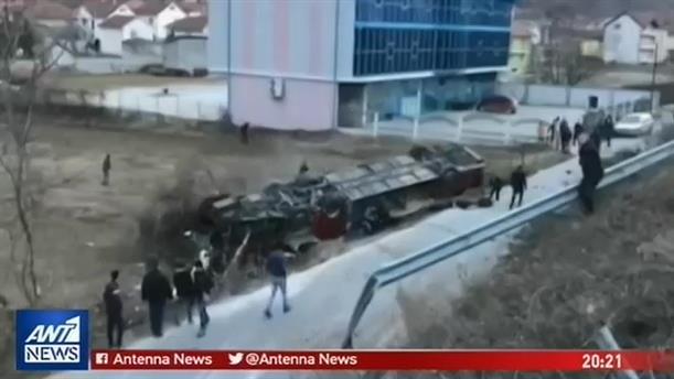 Τραγωδία στον αυτοκινητόδρομο από τα Σκόπια προς το Τέτοβο