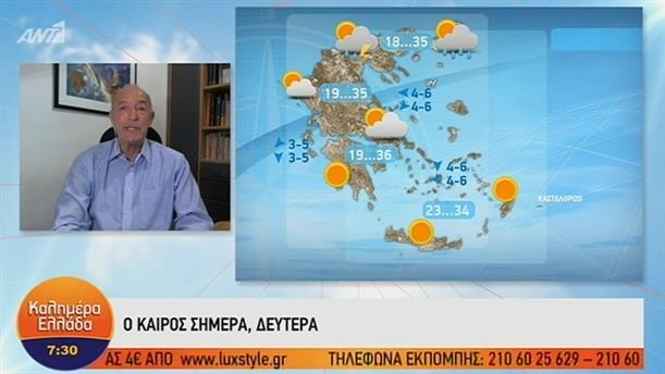 ΚΑΙΡΟΣ – ΚΑΛΗΜΕΡΑ ΕΛΛΑΔΑ - 08/07/2019
