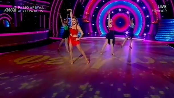 Αποστολία Ζώη – LIVE 11 – DANCING WITH THE STARS