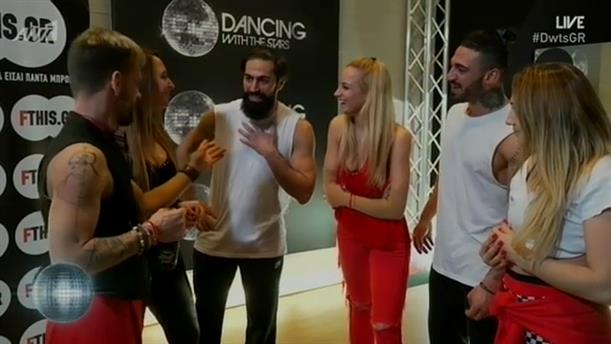 BACKSTAGE – LIVE 8 – DANCING WITH THE STARS