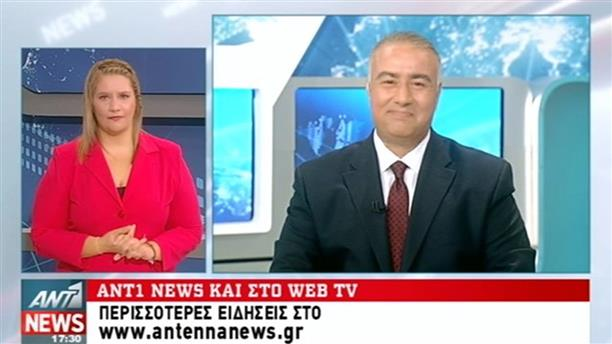 ANT1 News 07-10-2016 στη Νοηματική