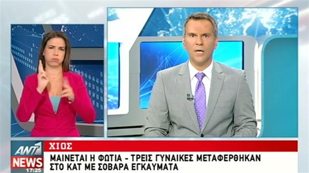 ANT1 News 26-08-2016 στη Νοηματική