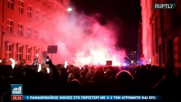 Επεισοδιακές διαδηλώσεις στην Ισπανία