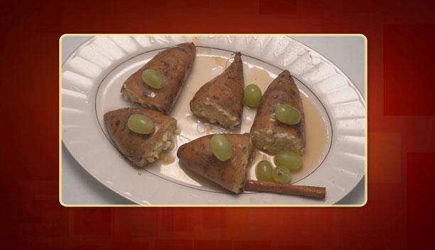 Γλυκοπατάτες με φέτα και σταφύλια του Ιωσήφ - Ορεκτικό - Επεισόδιο 47