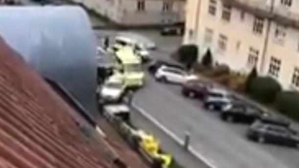Πλήθος κόσμου χτυπήθηκε από κλεμμένο ασθενοφόρο στο Όσλο