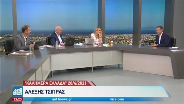 Μαίνεται η αντιπαράθεση Κυβέρνησης-ΣΥΡΙΖΑ για τα εμβόλια