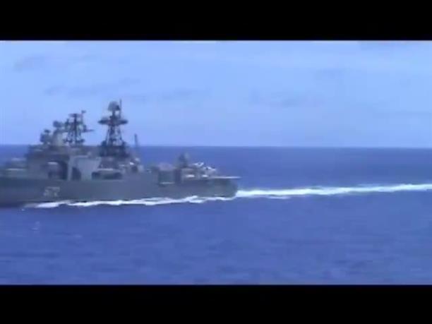 Παρ΄ ολίγον σύγκρουση πολεμικών πλοίων στην θάλασσα των Φιλιππίνων