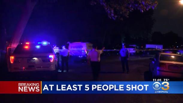 Πυροβολισμοί στη Φιλαδέλφεια