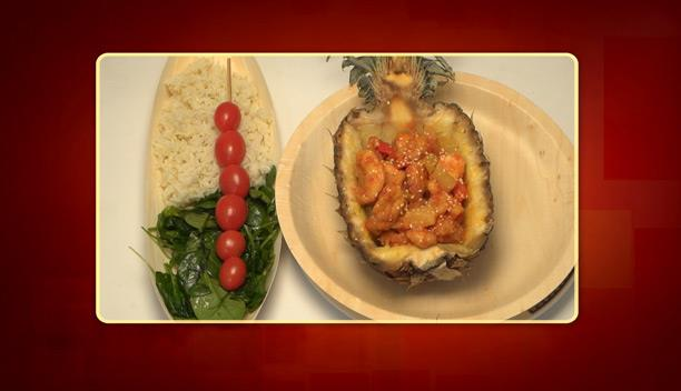 Κοτόπουλο με ανανά και ρύζι μπαζμάτι της Ηλιάνας - Κυρίως Πιάτο - Επεισόδιο 38