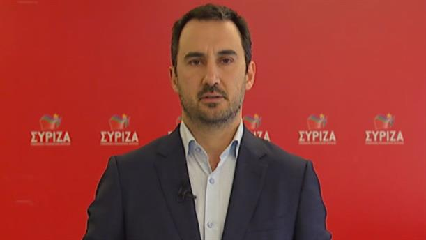 Δήλωση Χαρίτση για την ιδιωτικοποίηση των εταιρειών και δικτύων ενέργειας της Ελλάδας