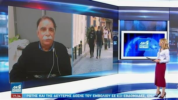 Κορονοϊός - Βατόπουλος στον ΑΝΤ1: οι μεταλλάξεις αυξάνουν τη μεταδοτικότητα