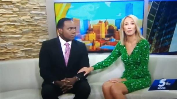 Παρουσιάστρια είπε on air ότι ο συνάδελφός της μοιάζει με γορίλα και μετά ζήτησε συγγνώμη κλαίγοντας
