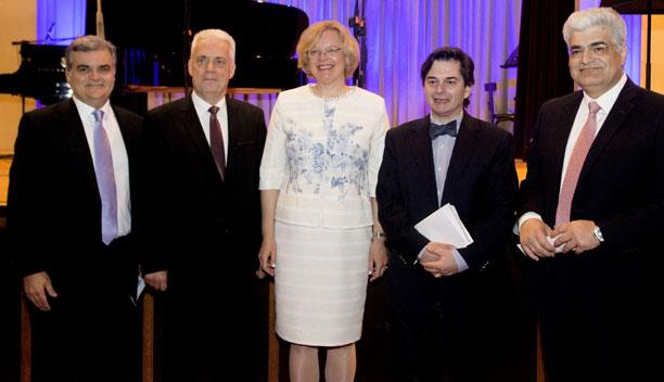 «DIPLOMATS IN CONCERT IN ATHENS»