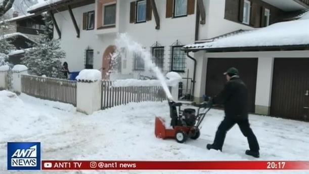 Κακοκαιρία «σαρώνει» την κεντρική Ευρώπη