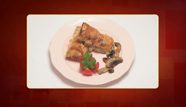 Μπουρεκάκια γεμιστά με κοτόπουλο της Βασιλικής - Ορεκτικό - Επεισόδιο 43