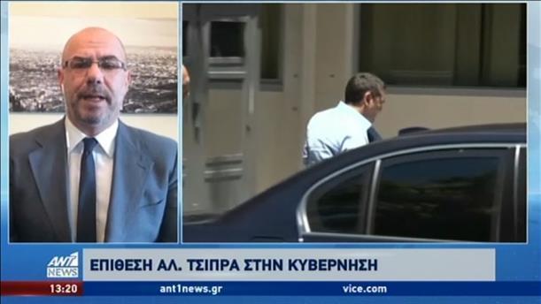Δριμύ κατηγορώ Τσίπρα στον Μητσοτάκη για τον κορονοϊό και τα μέτρα