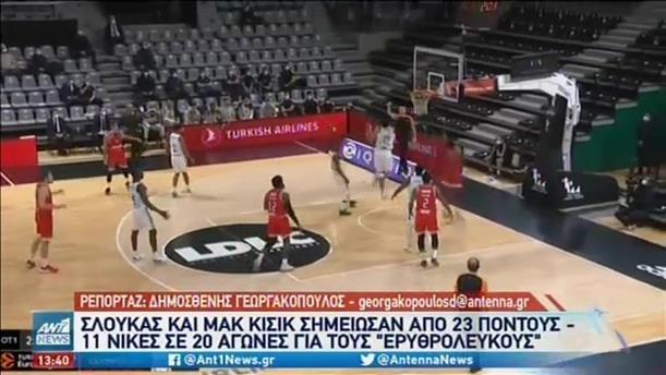 Euroleague: ο Ολυμπιακός νίκησε στην παράταση