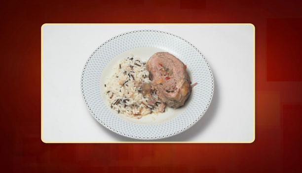 Πανσέτα γεμιστή με άγριο ρύζι της Βασιλικής - Κυρίως πιάτο - Επεισόδιο 60